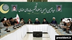 Hassan Rouhani meeting with clerics-- 20 May 2019