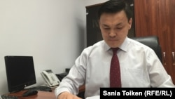Азамат Уалиев, начальник управления прокуратуры по контролю за следствием Мангистауской области. Актау, 23 июня 2016 года.