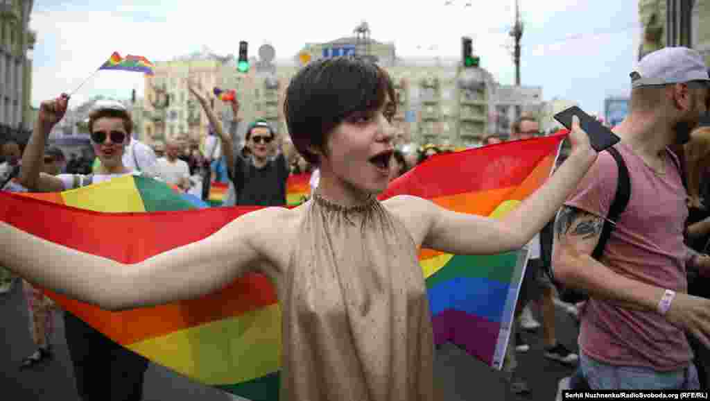«Марш равенства»проходят в Украине с 2013 года.