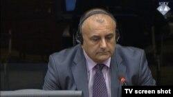 Gojko Drašković u sudnici 19. kolovoza