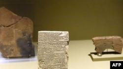 آثار بابل معروضة في متحف لوفر بباريس