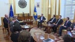 Vizita e Hahn në Kosovë