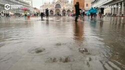 В Венеции самое сильное наводнение за последние несколько десятков лет