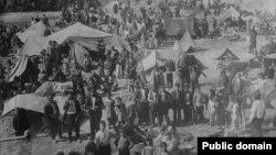 Jermenske izbeglice u kampu u Siriji