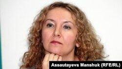 "Tatýana Trubaçewa, ""Golos Respubliki"" gazetiniň baş redaktory. 29-njy noýabr, 2012."