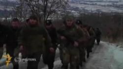 Қуролланган чеченлар Донбассда Украина армиясига қарши урушмоқда