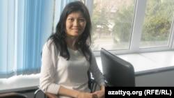 Координатор проекта Mobility club Меруерт Тлебалды. Алматы, 27 марта 2013 года.
