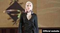 Secvență dintr-o prezentare de modă pentru femei musulmane la Dubai.