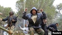 Народное ликование на востоке Ливии