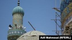 مناور وقبة جامع الحيدرخانة