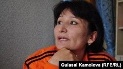 O'zbekistonlik jurnalist va huquq faoli Malohat Eshonqulova.