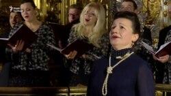 Солістка Віденської опери заспівала у Софії Київській (відео)