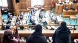 Danimarka parlamentində niqablı qadınların etirazı, 31 may, 2018-ci il