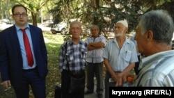 Адвокат Николай Полозов на перерыве заседания суда по «делу Чийгоза»