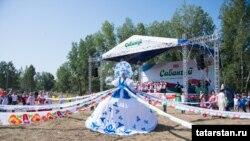Красноярскидагы Сабантуй күренеше, 19 июль 2015 ел.