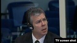 Svjedok Ewan Brown u sudnici 22.11.2013.