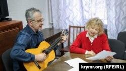 Презентация песен на украинском языке в Севастополе, 13 февраля 2019 год
