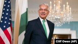 وزیر خارجه پاکستان در سفر مهرماه گذشته خود به واشینگتن