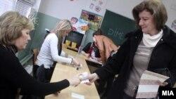 Втор круг од Локалните избори 2013. Гласање.