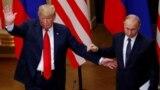 Donald Trump și Vladimir Putin la Helsinki, 16 iulie 2018