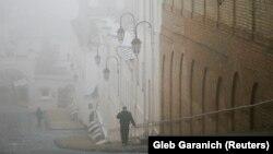 Київ у тумані, фото ілюстративне