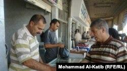 في احد اسواق الموصل