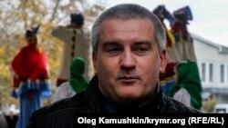 Сергій Аксьонов, самопроголошений прем'єр Криму