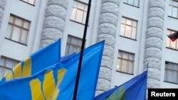 Здание в административном центре Киева.