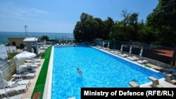 One of several hotels owned by Bulgaria's Defense Ministry at a popular resort on the Black Sea coast.