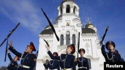 Казаки в Новочеркасске