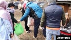 Оказание помощи мигрантам в Москве.