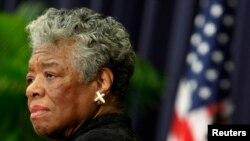 Shkrimtarja afro-amerikane, Maya Angelou