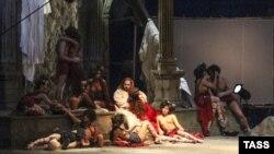Спектакль «Тангейзер» на сцене новосибирского театра оперы. 14 марта 2015 года.