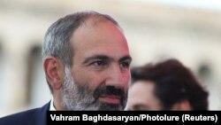 Nikol Pašinjan 8. maja 2018. na dan kada je izabran za premijera Jermenije.
