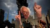Suporteri ai lui Bernie Sanders la alegerile prezidențiale americane din 2016, când senatorul de Vermont a pierdut în fața lui Hillary Clinton nominalizarea Partidului Democrat