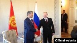 Атамбаев и Путин