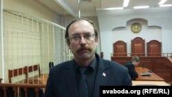 """Разам"" кыймылынын лидери, оппозициячыл активист Вячеслав Сивик."