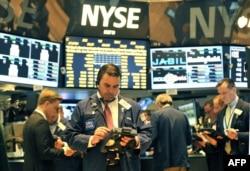 Фондавая біржа ў Нью-Ёрку