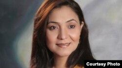 Популярная актриса театра и телевидения Шазма Халим. Пакистан.