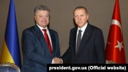 Petro Poroşenko ve Recep Erdoğan