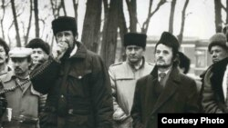 "Ukraine, Crimea - The action of the Crimean Tatars ""KIEV-92."""