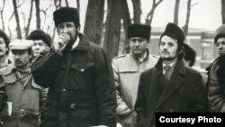 Акція кримських татар у Києві, 1992 рік