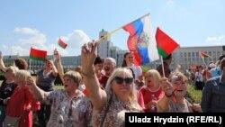 «Антимайдан» Лукашенка: фоторепортаж з акції у Мінську
