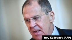 Рускиот министер за надворешни работи Сергеј Лавров