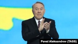 Қазақстанның бірінші президенті Нұрсұлтан Назарбаев. Нұр-Сұлтан, 27 ақпан 2019 жыл.