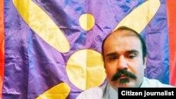 Иранский активист Вахид Насир. Архивное фото.