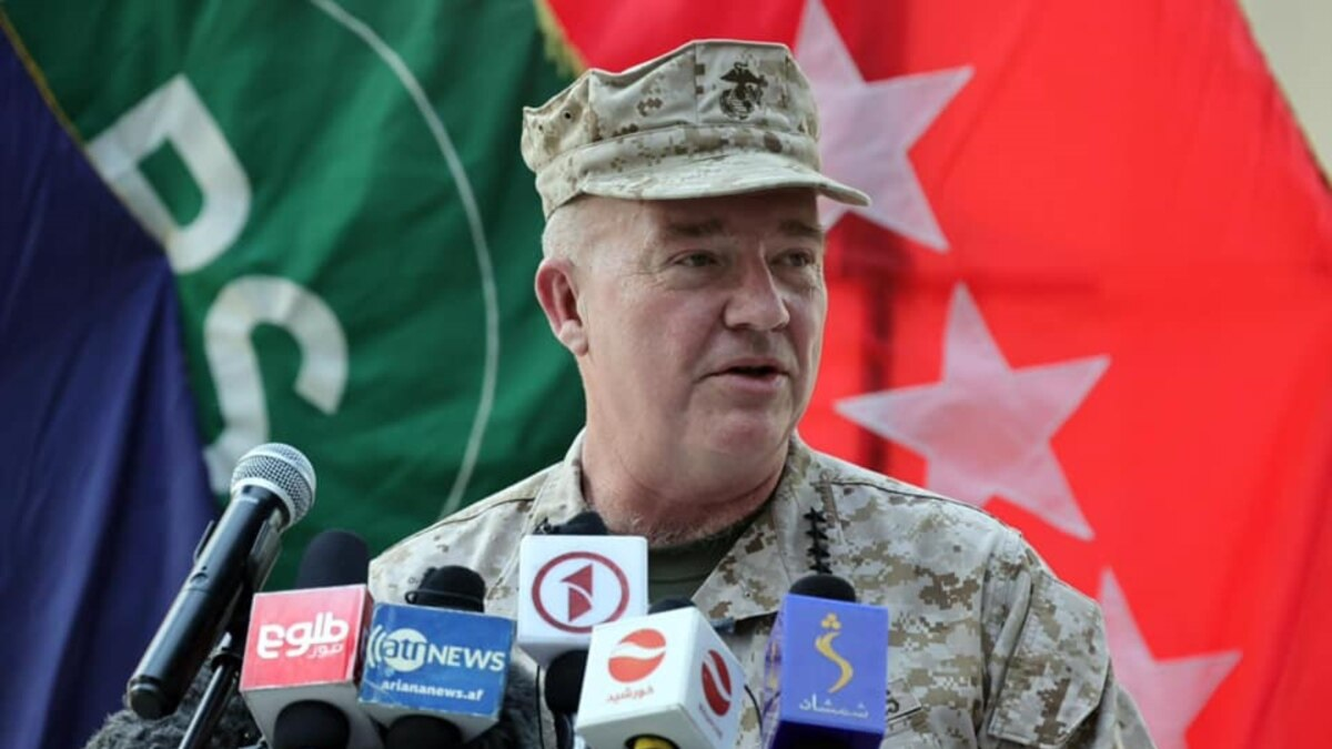U.S. General Says Air Strikes In Support Of Afghan Army To Continue