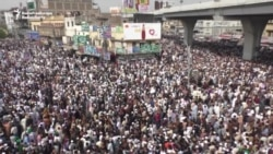 Thousands Of Pakistanis Gather For Funeral Of Executed Assassin