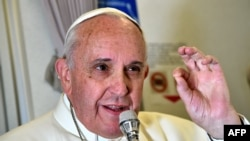 Pope Francis said he would visit Sarajevo on June 6 to pray for peace and interreligious dialogue.