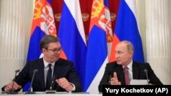 Presidentët, Aleksandar Vuçiq dhe Vladimir Putin